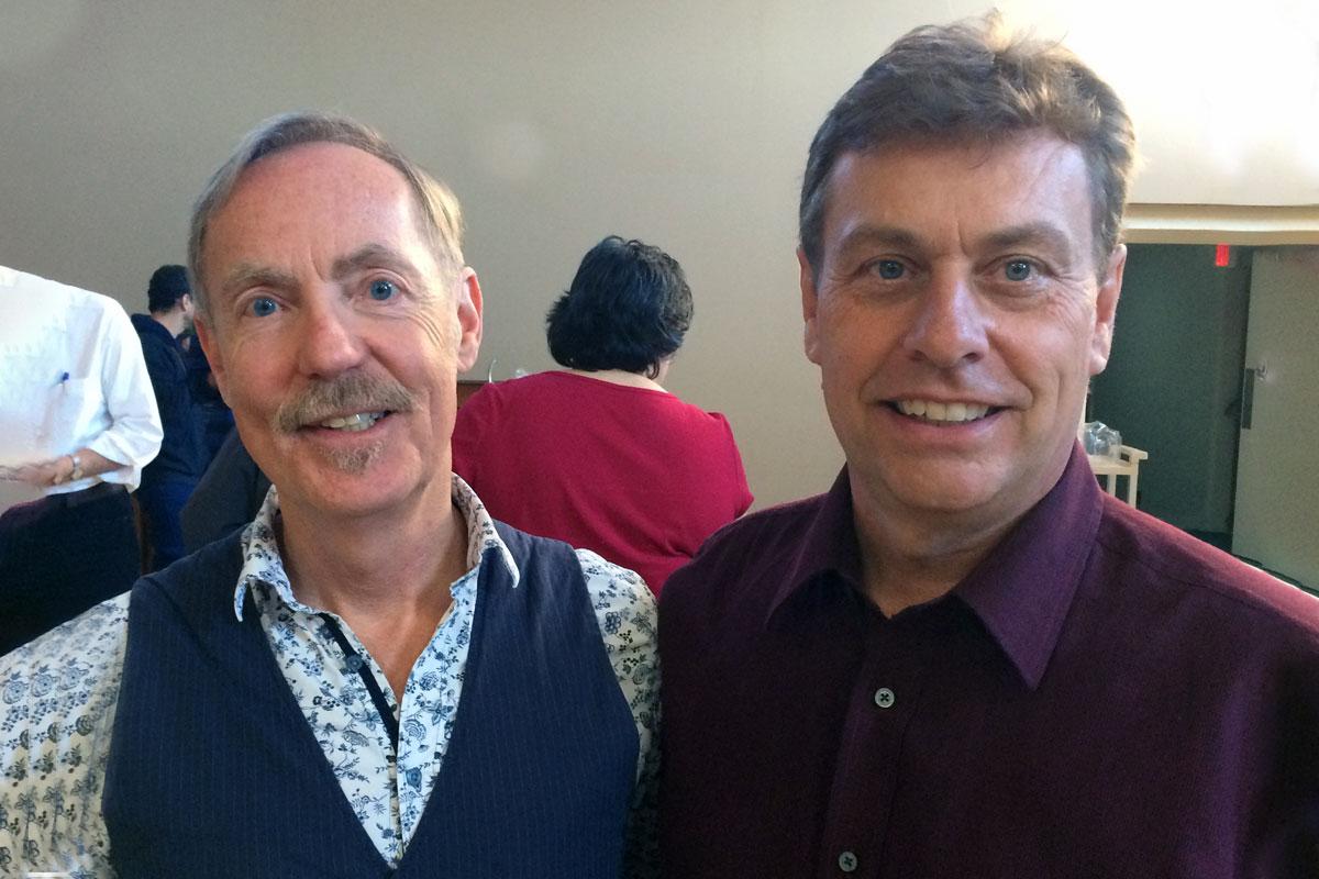 Mark Sirett & Bob Phillips